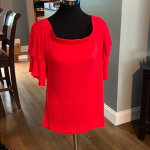 🆕 Red off the Shoulder Red Top